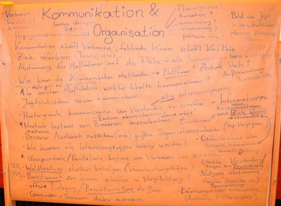 Ergebnisse Diskussion Gruppe Kommunikation Forbach
