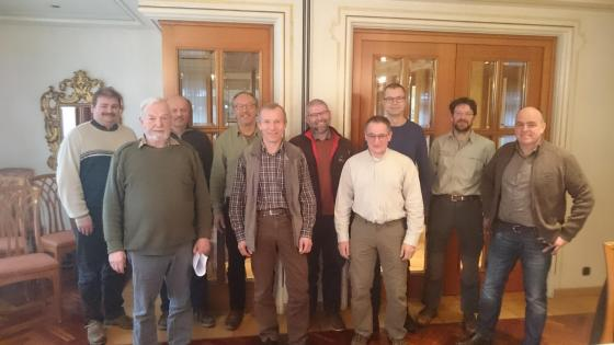 Die Mitglieder der Thematischen Arbeitsgruppe Waldwirtschaft
