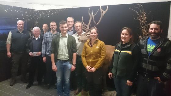 Die Mitglieder der Thematischen Arbeitsgruppe Walderlebnis