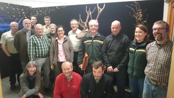 Die Mitglieder der Thematischen Arbeitsgruppe Naturschutz