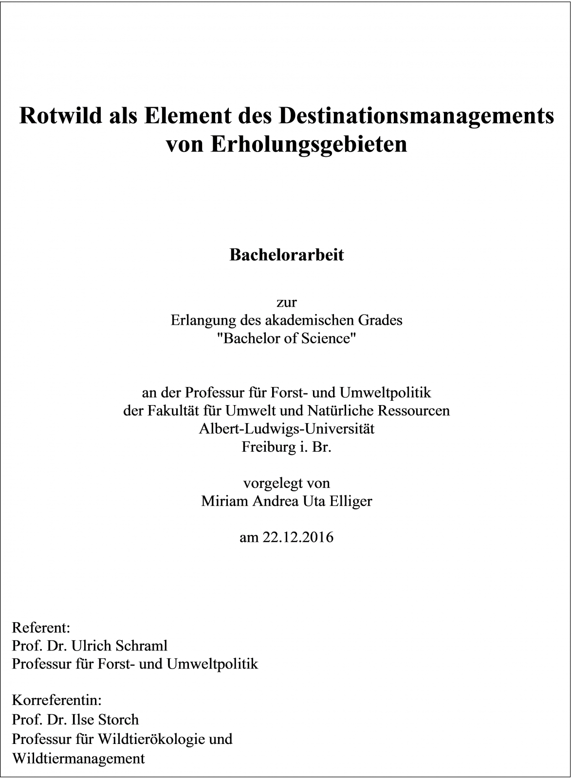 thesis uni